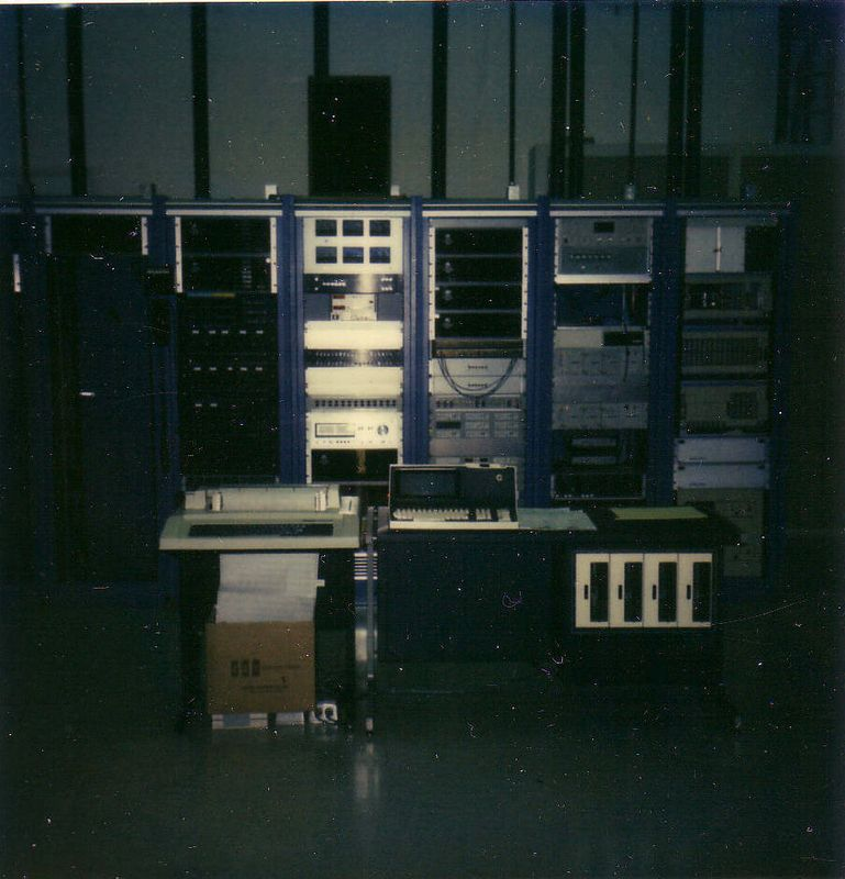 MBS Earth Station - 1982