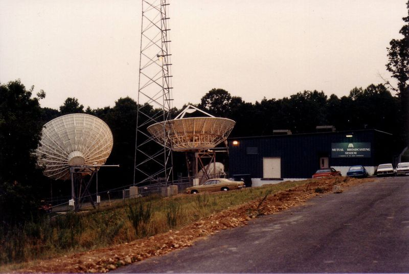 MBS earth station, 1983