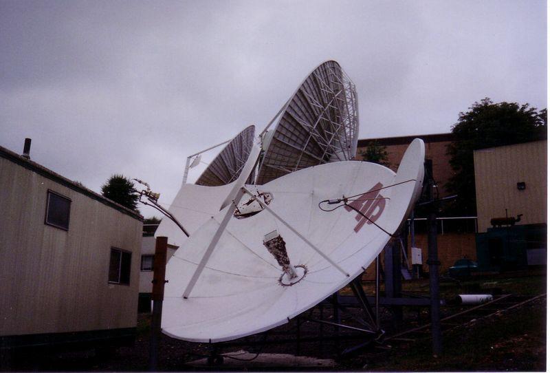 AP Radio uplink dish.