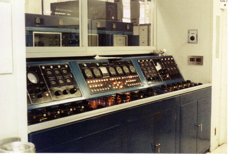 Control console.