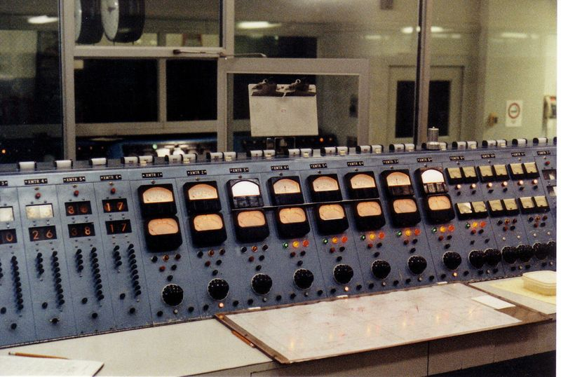 Station control console
