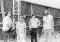 Highlight for Album: WMUC-FM Construction Summer 1979