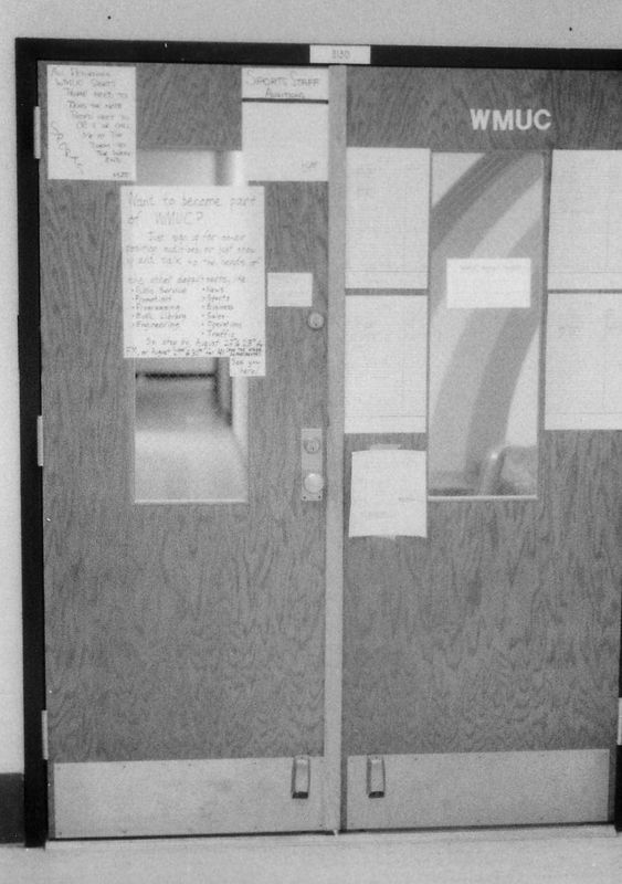 Front door of WMUC