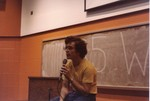 Staff meeting, fall 1977. Who is this guy?