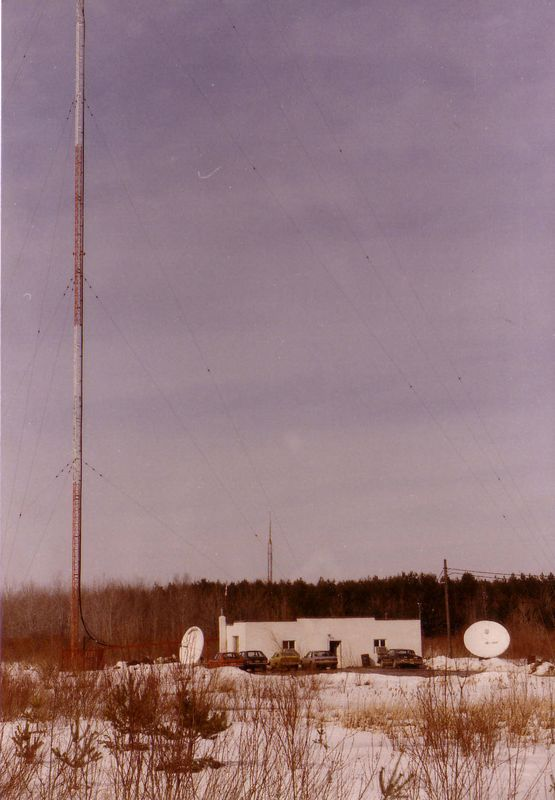 WOSC studio and transmitter site