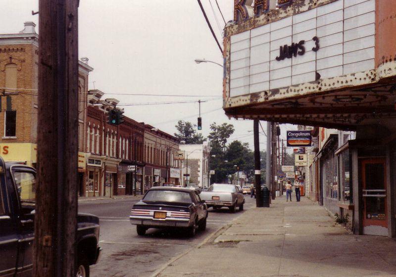 Street scene, Pulaski, New York